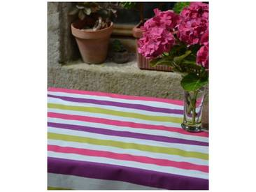 Gartentischdecke Streifen Violett