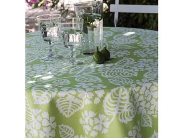 Gartentischdecke Hortensie Grün