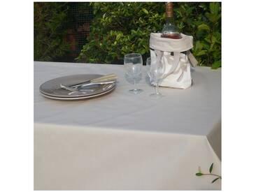 Tischdecke abwaschbar Einfarbige Beige