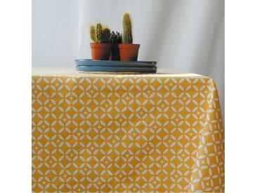 Tischdecke abwaschbar Mosaik Gelb