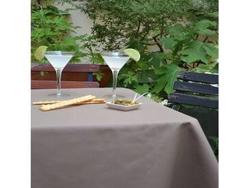 Tischdecke abwaschbar Einfarbige Braun
