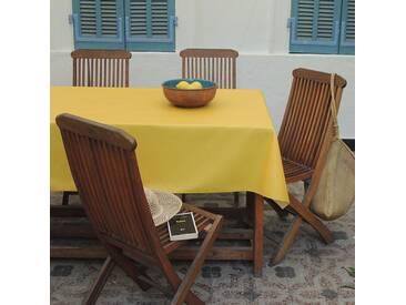 Tischdecke abwaschbar Einfarbige Gelb