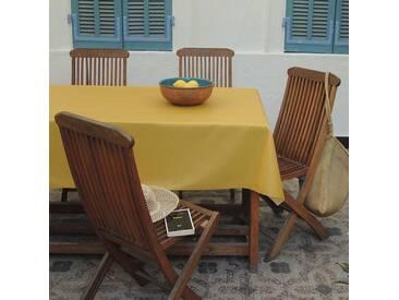 Tischdecke abwaschbar Einfarbige Gelb curry