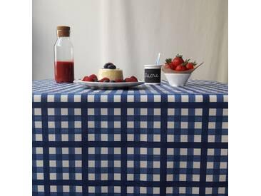 Tischdecke abwaschbar Guinguette Blau