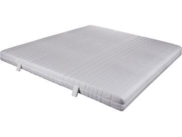 7-Zonen-Komfortschaummatratze, Bezug in Weiß, Größe 180 x 200 cm, Härtegrad 2, 3 oder 4 - alle Preisgleich!