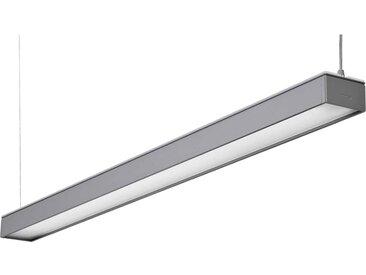 Pendelleuchte Luxo Reed LED, 44 W, CRI>80, 4000K, 5843 lm, 40/60, silbergrau