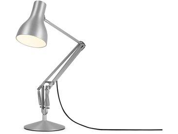 Arbeitsplatzleuchte Anglepoise Type 75, für ESL bis 20 W, LED bis 10 W, brushed aluminium