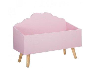 Spielzeugkiste Wolke Rosa