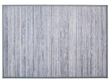 Bambusteppich (170 cm) Grau