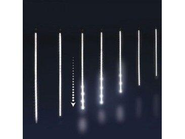 Eiszapfen-Lichterkette L6 m Lauflicht Kaltweiß 210 LEDs