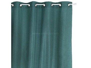 Vorhang (140 x H260 cm) Bea Petrolblau