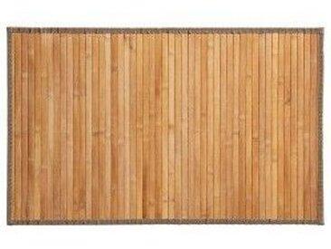 Bambusteppich (80 cm) Naturfarben