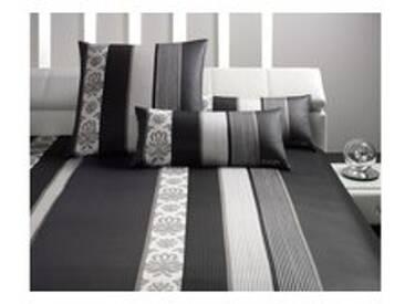 Joop! Bettwäsche Ornament Stripes 4022-09 schwarz - 155x220cm