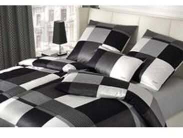 Joop! Bettwäsche Plaza Squares 4051-00 schwarz-weiß - 135x200cm