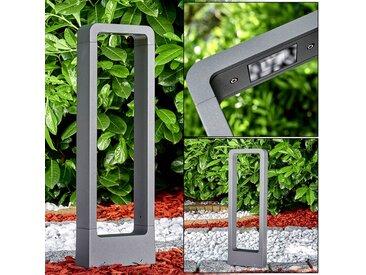Watford Sockelleuchte LED Anthrazit, 1-flammig - Modern/Design/Puristisch/Basic/Zeitlos - Außenbereich - versandfertig innerhalb von 1-2 Werktagen