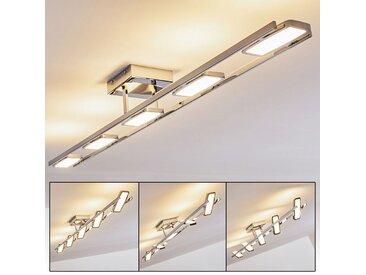 Neebing  Deckenleuchte LED Chrom, 5-flammig - Design - Innenbereich - versandfertig innerhalb von 1-2 Werktagen