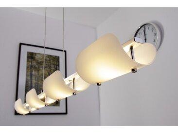 Hanoi Hängeleuchte LED Silber, 4-flammig - Modern/Design - Innenbereich - versandfertig innerhalb von 1-2 Werktagen