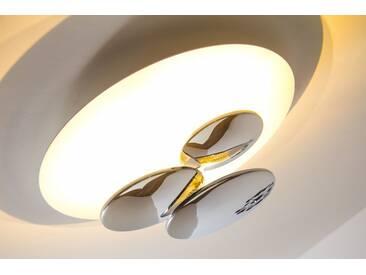Kitchener Deckenleuchte LED Chrom, 1-flammig - Design - Innenbereich - versandfertig innerhalb von 1-2 Werktagen