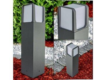 Lysabbel Sockelleuchte LED Anthrazit, 1-flammig - Modern - Außenbereich - versandfertig innerhalb von 1-2 Werktagen