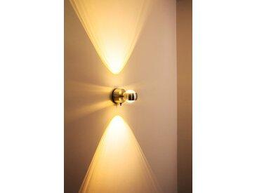Florenz Badleuchte LED Aluminium, 2-flammig - Design - Innenbereich - versandfertig innerhalb von 1-2 Werktagen