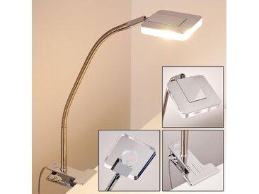Paide Klemmleuchte LED Silber, 1-flammig - Modern - Innenbereich - versandfertig innerhalb von 1-2 Werktagen