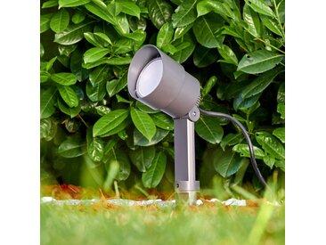 Apenrader Gartenstrahler LED Anthrazit, 1-flammig - Modern - Außenbereich - versandfertig innerhalb von 1-2 Werktagen