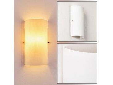 Modica Wandleuchte  Weiß, 1-flammig - Modern - Innenbereich - versandfertig innerhalb von 1-2 Werktagen