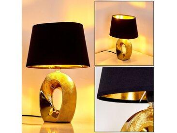 Rovio Tischleuchte Gold, 1-flammig - Design/Loft - Innenbereich - versandfertig innerhalb von 1-2 Werktagen