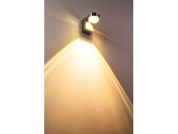 Florenz Badleuchte LED Aluminium, 1-flammig - Puristisch - Innenbereich/Außenbereich - versandfertig innerhalb von 1-2 Werktagen