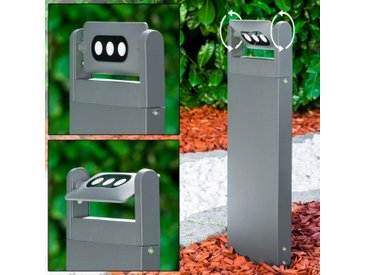 Sockelleuchte TAZLINA LED Anthrazit, 3-flammig - Modern - Außenbereich - versandfertig innerhalb von 1-2 Werktagen