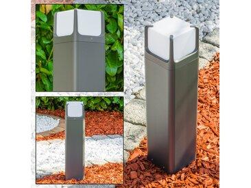 Sockelleuchte Armor LED Anthrazit, 1-flammig - Modern - Außenbereich - versandfertig innerhalb von 2-3 Wochen