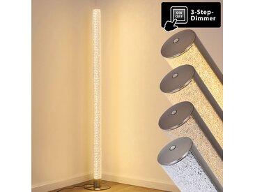 Pipe Stehleuchte LED Nickel-Matt, 1-flammig - Design - Innenbereich - versandfertig innerhalb von 1-2 Werktagen
