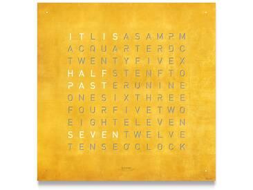 Biegert&Funk - Qlocktwo CREATOR´S EDITION - deutsch - gold