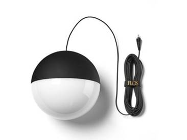 Flos - String Light Pendelleuchte Sphere Head - 12 m