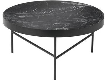 ferm LIVING - Marble Tisch - schwarz