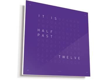 Biegert&Funk - Qlocktwo - englisch - violett