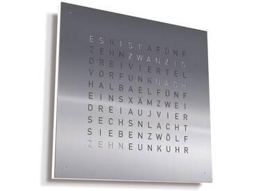 Biegert&Funk - Qlocktwo Large - Edelstahl gebürstet