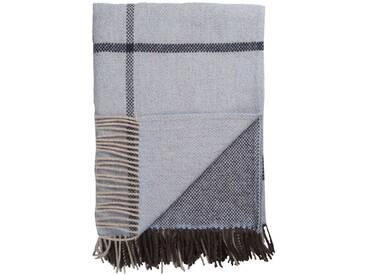 Roros Tweed - Filos Decke - blue