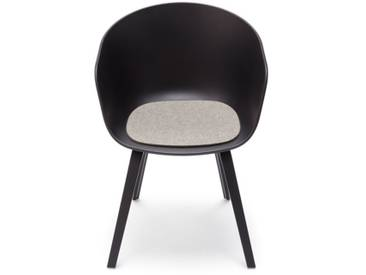 Hey-Sign - Sitzauflage AAC About A Chair - 07 hellmeliert mit Antirutsch