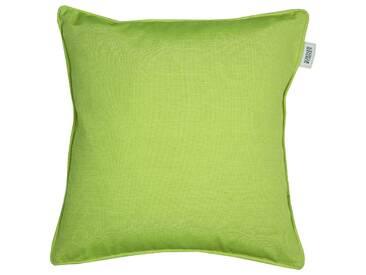 SCHÖNER WOHNEN Kollektion - Mono Zierkissenhülle - grün