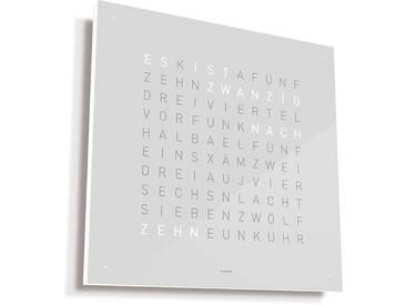 Biegert&Funk - Qlocktwo Classic - deutsch - weiß