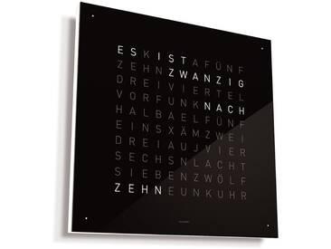 Biegert&Funk - Qlocktwo Classic - deutsch - schwarz