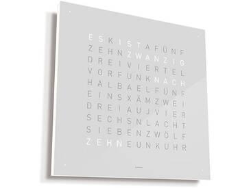 Biegert&Funk - Qlocktwo Large - Edelstahl weiß