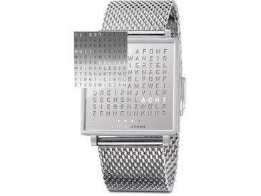 Biegert&Funk - FRANZÖSISCHE Qlocktwo Fine Steel - Armbanduhr