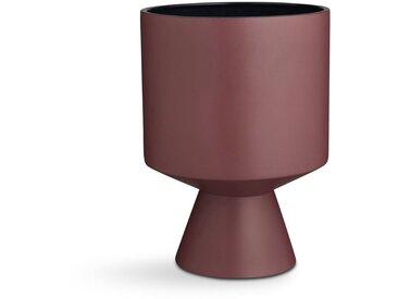 Kähler Design - Fiora Bodenvase - bordeaux/ blau
