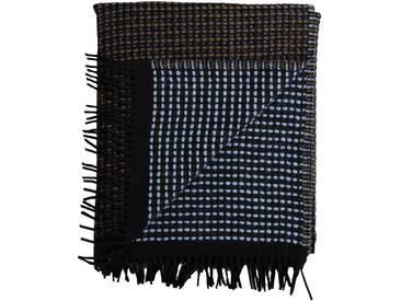 Roros Tweed - Lofoten Decke - blue/mule