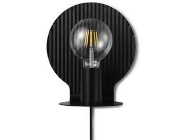 Normann Copenhagen - Plate Wall Lamp - Black