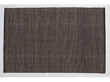 Nanimarquina - Tatami Teppich - schwarz - 170 x 240 - indoor