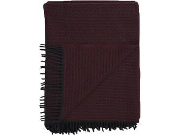 Roros Tweed - Frogner Decke - burgundy