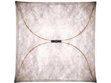 Flos -Ariette Wand- und Deckenleuchte quadratisch - 100 cm - Natur